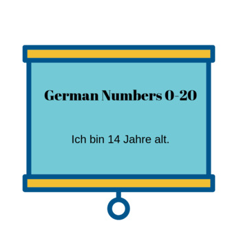 German Numbers 0-20/Ask and Tell someone's age/ German for Beginners