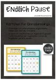 Einmaleins-Bingo (bis Reihe 10)