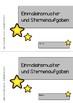 Einmaleinsmuster und Sternenaufgaben