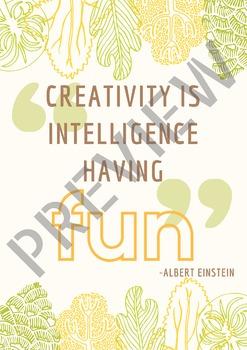 Einstein Print Ready Poster