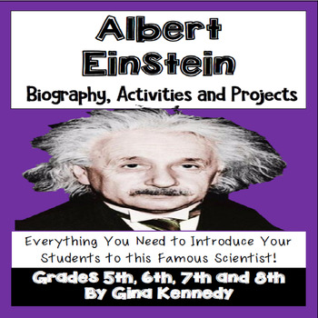 Albert Einstein Unit, Biography, Poetry, Notes, Projects + More!