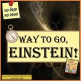 Albert Einstein vs. Isaac Newton Reading Comprehension Unit