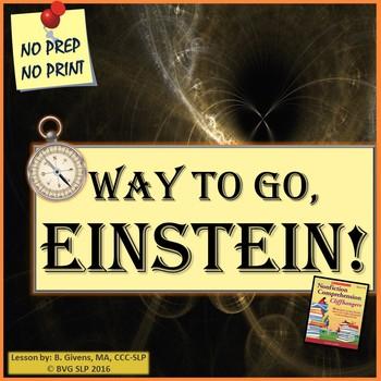 Einstein Reading Comprehension