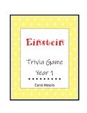 Einstein Trivia * Game Year 1 ~ Pi Day