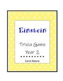 Einstein Trivia * Game Year 2 ~ Pi Day