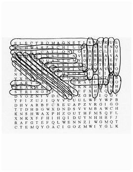 Einstein's Dream Word Search with Key