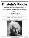 Einstein's Famous Fish Riddle Rewritten For Kids