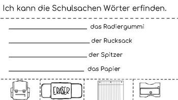 Eintrittskarten: Schulsachen
