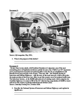 Eisenhower and the Cold War DBQ