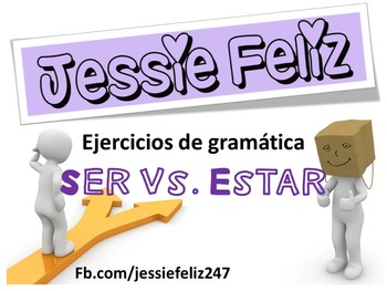 Ejercicio de gramática: Ser vs. Estar Worksheet