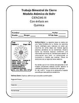 Ejercicios del Modelo Atómico de Bhor