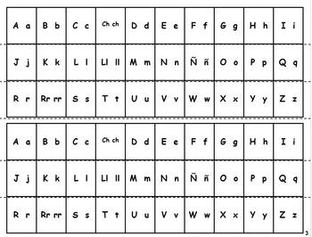Spanish Alphabet Activities/Ejercicios del alfabeto (Bundle)