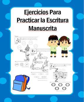 Ejercicios para Practicar la Letra Manustrita
