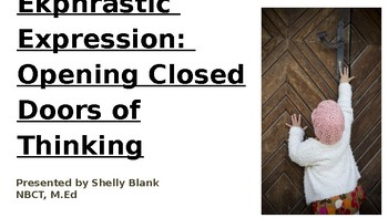 Ekphrastic Expression: Professional Development Toolkit for Reading Visual Texts