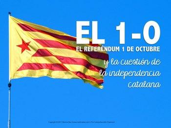 El 1-O referéndum de Cataluña - Catalan independence