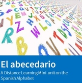 El Abecedario - A Distance Learning Mini-unit on the Spani