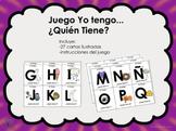 El Abecedario / Alfabeto Juego Yo Tengo... ¿Quién Tiene...