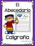 El Abecedario - Caligrafía / Alphabet Handwriting Sheets in SPANISH