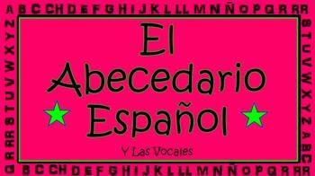 El Abecedario Español (The Spanish Alphabet)