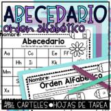 Abecedario y Orden Alfabético | Spanish Alphabet | ABC Order