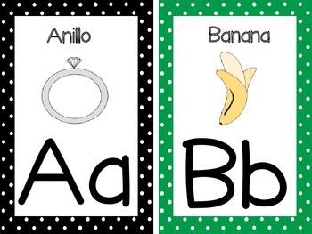El Abecedario (Alphabet in Spanish)