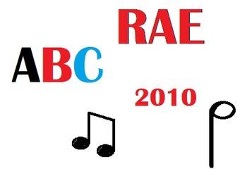 El Abecedario:  Spanish Alphabet Song with 2010 RAE Changes!