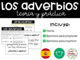 El Adverbio: Teoría + práctica + ejercicios