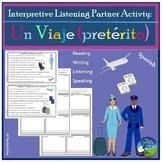 El Aeropuerto - Airport Travel - Interpretive Listening Act.