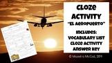 El Aeropuerto/El Avión- Vocabulary Practice - Vocab List a