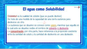 El Agua para Niños (Como Recurso Natural)