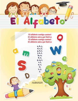 Spanish Alfabeto Song -  Flashcards