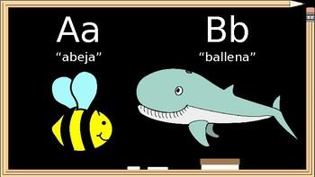 El Alfabeto Español (The Spanish Alphabet - Lesson Slides)