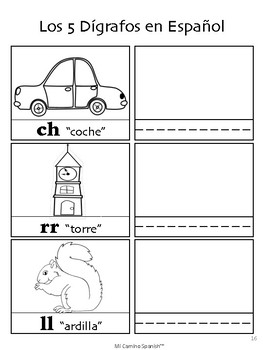 El Alfabeto Español (The Spanish Alphabet - Worksheets & Charades!)
