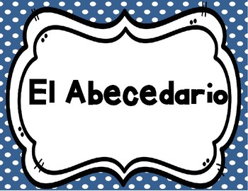 El Alfabeto Posters