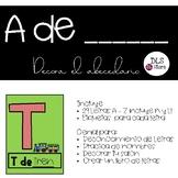 El Alfabeto - Reconocimiento de letras