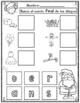 El Alfabeto:  Sonido Final de Navidad Actividades para Kin