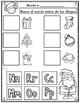 El Alfabeto:  Sonido Inicial de navidad