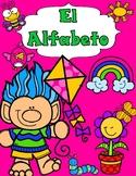 El Alfabeto:  Spanish Alphabet Cut and Paste