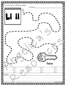 El Alfabeto : Spanish Alphabet Tracing - Fine Motor & Handwriting Practice
