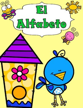 El Alfabeto: Spring Cut and Paste