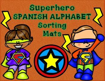 #btsblackfriday  Alfabeto Superhero Sorting Mats