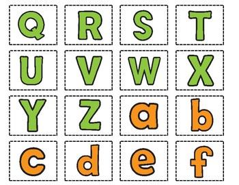 Alfabeto Superhero Sorting Mats