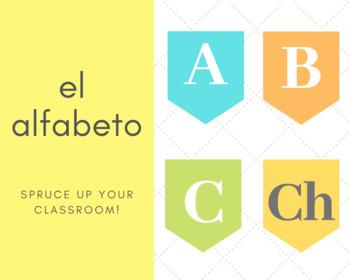 El Alfabeto en Español Classroom Decor!