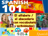 El Alfabeto en español | Spanish Alphabet for High School and College