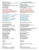 El Amante - Nicky Jam - Possessive adjectives and Possessive Pronouns