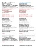 El Anillo  - Jennifer Lopez - Relative Pronouns: Que Quien Lo Que