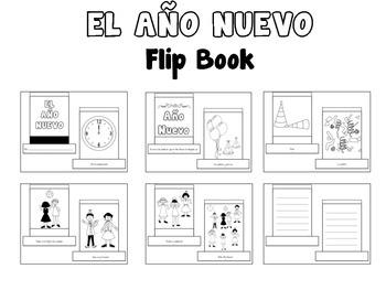 El Año Nuevo {Flip Book}