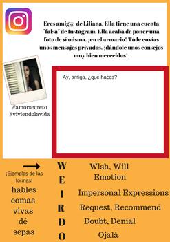 El Armario (CI Novel) Teaching Resources (Level 3+) Bundle