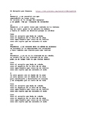 El Arroyito (The Little Brook) by Fonseca. Spanish song wi