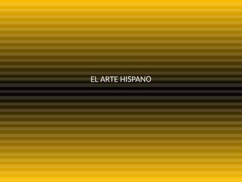 El Arte Hispano